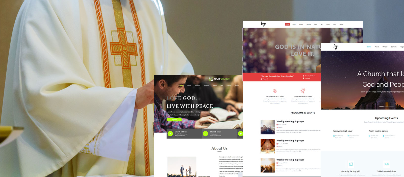 Church Website Builder Solutions and Church Website Design and Development Services